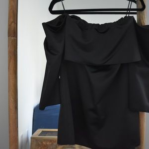 Zara Woman Off the Shoulder Dress